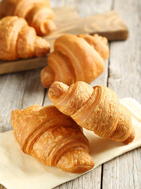 Fat reduction in pastry and croissants