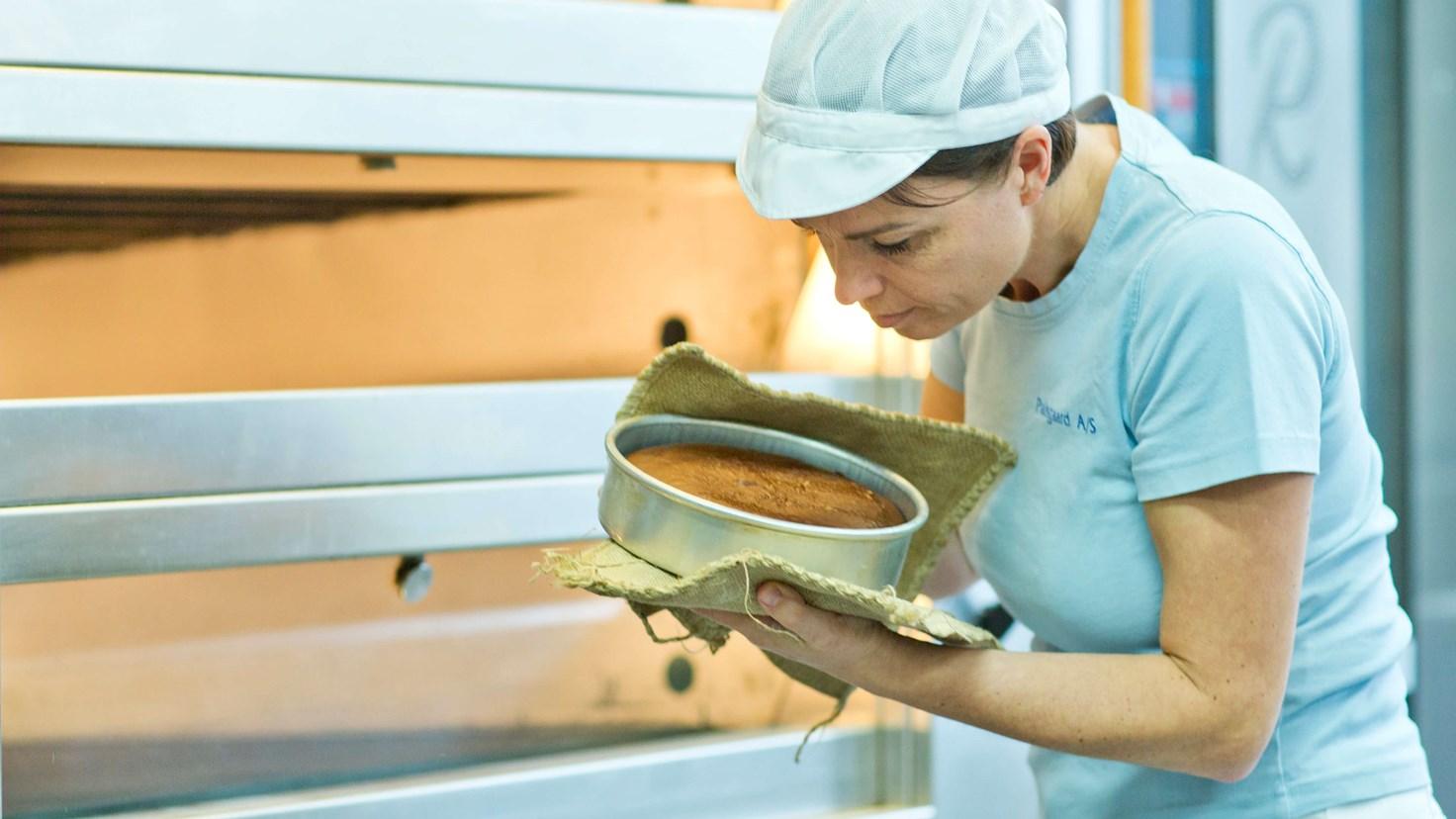 Palsgaard Baker Making A Gluten Free Devil's Food Cake