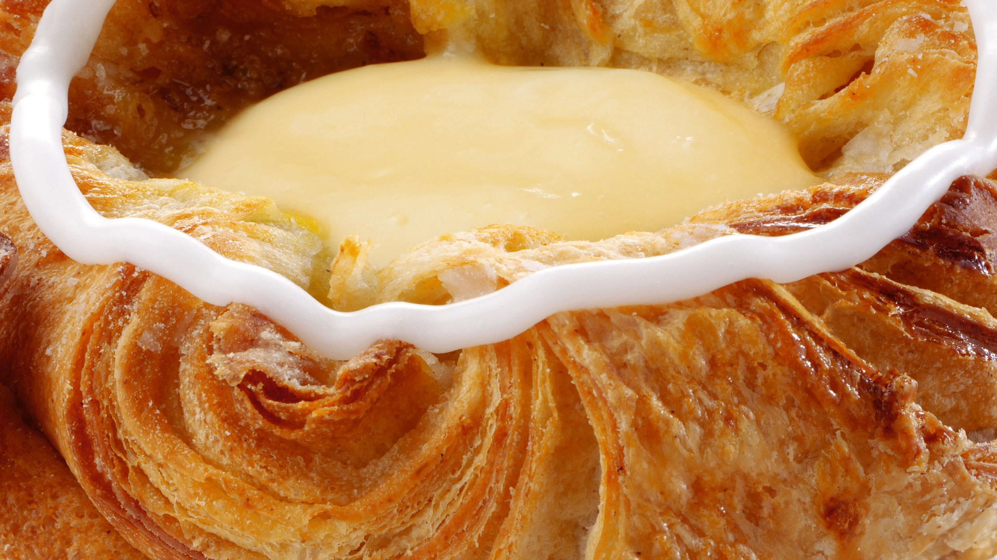 Danish Pastry made with Palsgaard emulsifiers