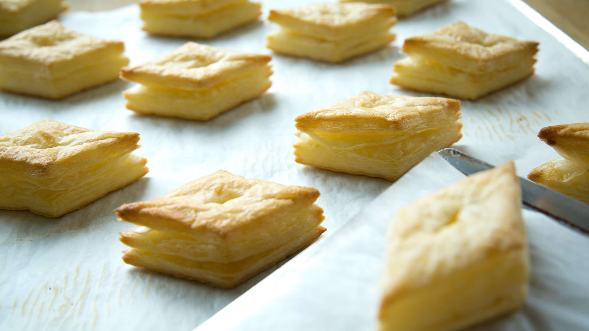 Palsgaard Baking Test Of Trans Fat Free Puff Pastry