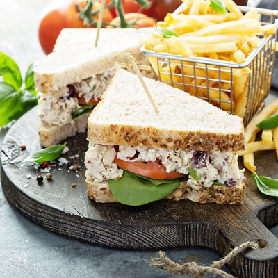 Sandwich With Salad Mayo made with Palsgaard stabilisers
