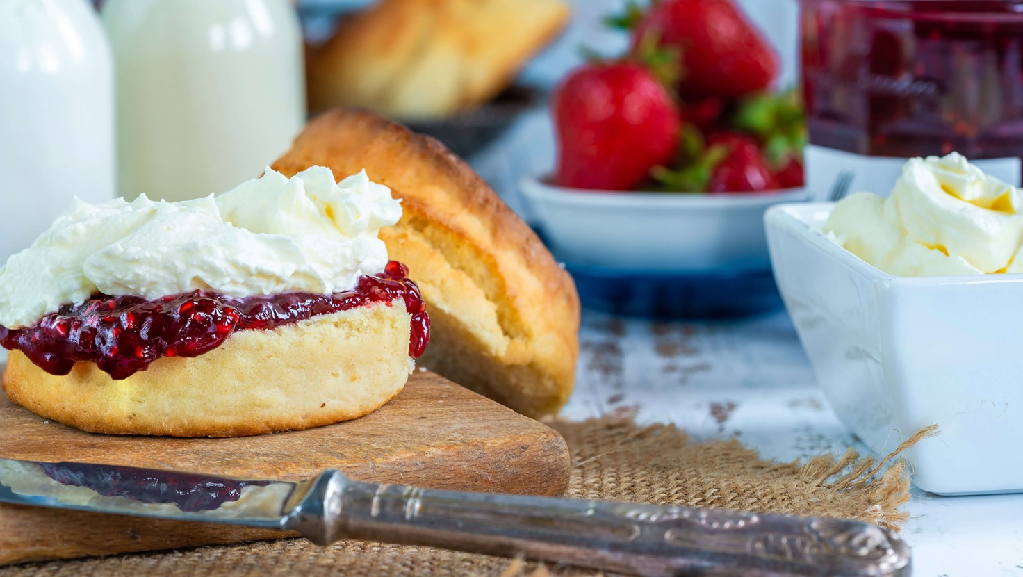 Breakfast Cream Made With Palsgaard Creamer