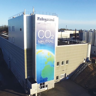 Palsgaard Denmark CO2 Neutral Factory 2015