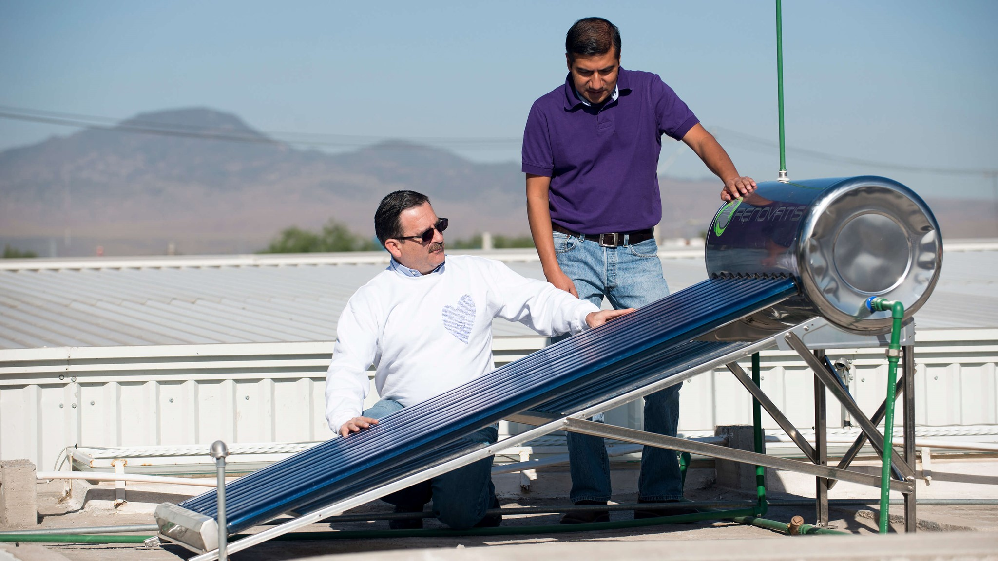 Palsgaard Mexico Has Installed Solar Powered Water Heaters In The Home Of Its Employees