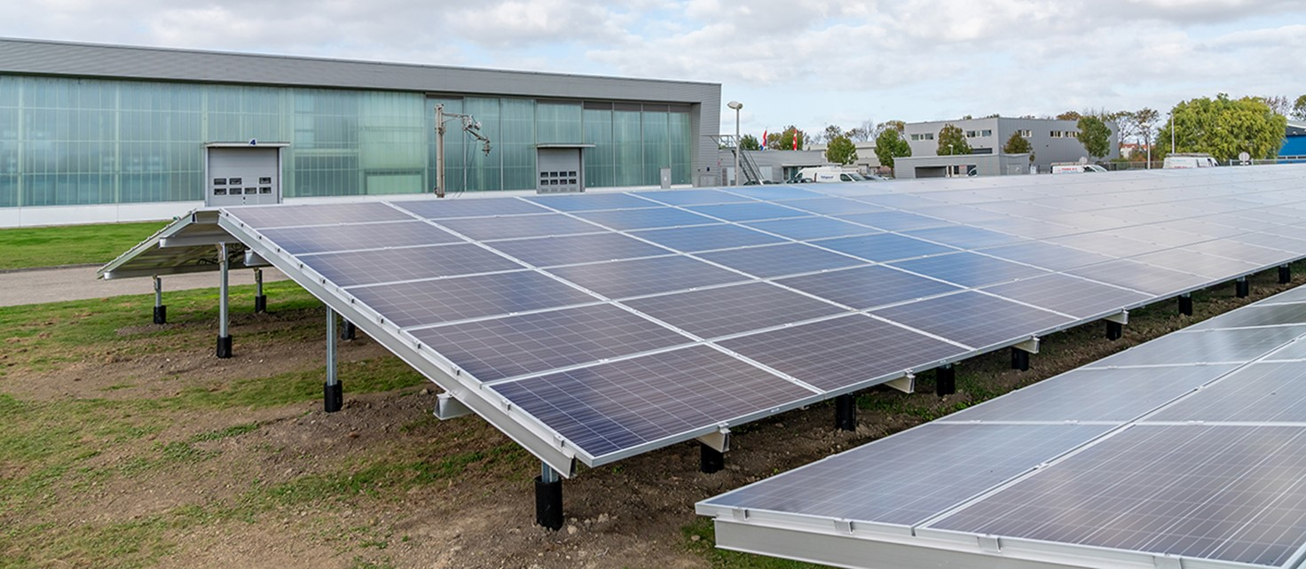 Palsgaard Netherlands Solar Panel Park Web