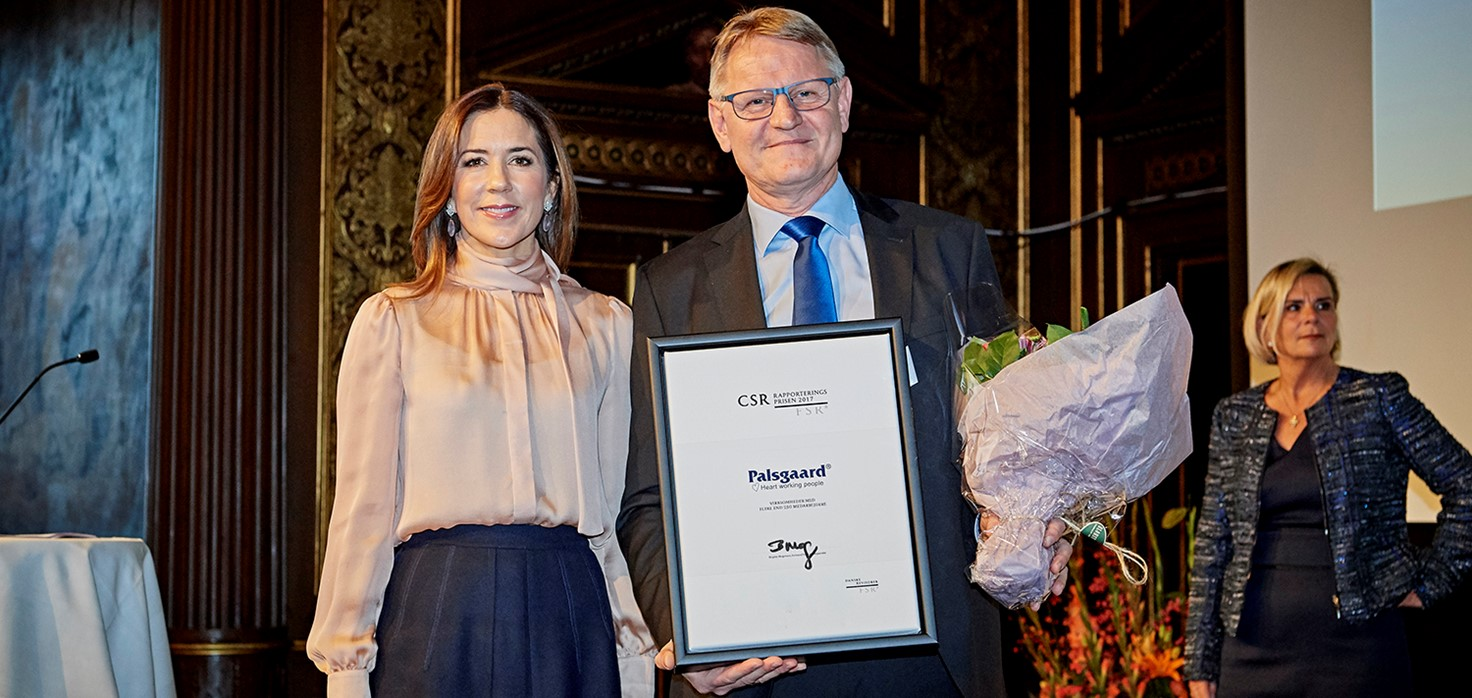 Palsgaard Wins Award For Csr Reporting Small